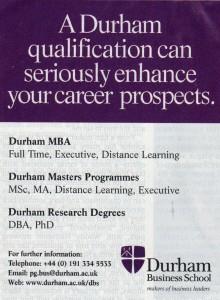 Seriously Durham